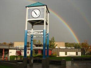 south-clock